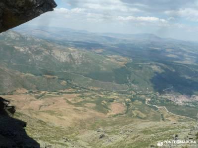 Gredos: Sierras del Cabezo y Centenera;mirador de las canchas ruta laguna de peñalara cascadas del